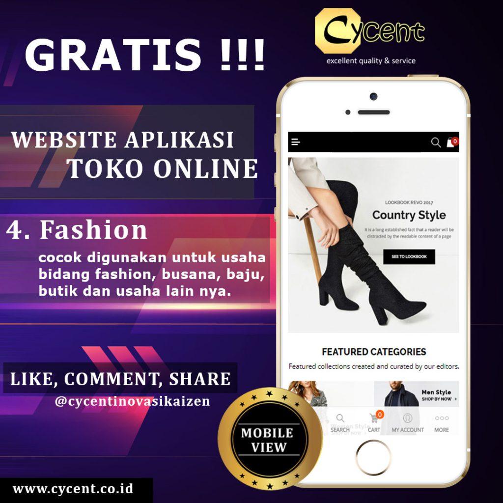 Website Aplikasi Toko Online Supermarket