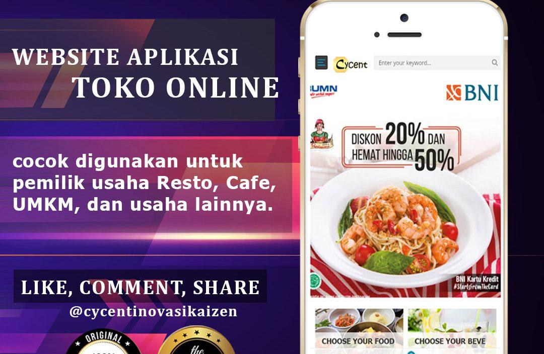 #belanjadirumahsaja - Website Aplikasi Gratis - Tetap bisa jualan dari rumah